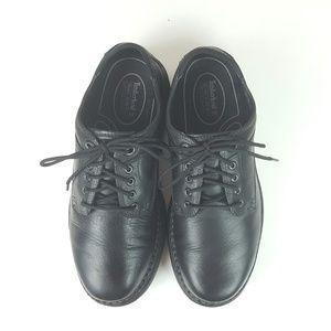 TIMBERLAND|Black Leather Smart Comfort System 9.5M